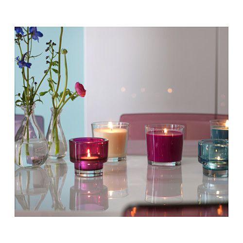 sinnlig bougie parfum e dans verre ikea am nagement salon bougie parfum e amenagement. Black Bedroom Furniture Sets. Home Design Ideas