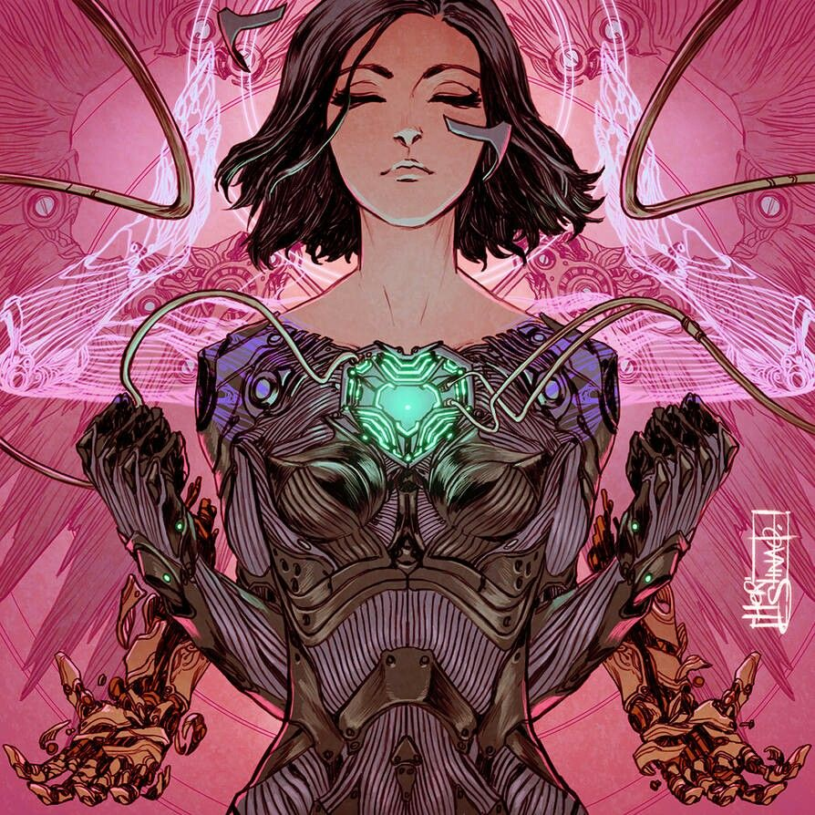 Pin by Estela on Ellie's World Alita battle angel manga