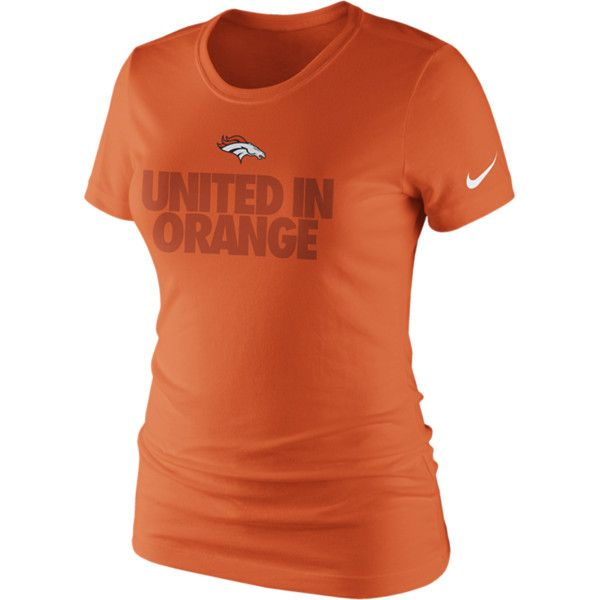Nike Local Phrase NFL Denver Broncos Women s T-Shirt - Orange 82023d54a