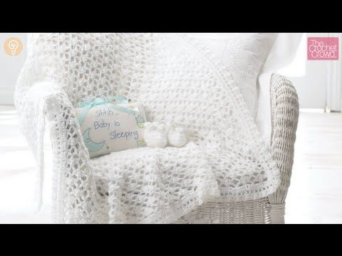 Crochet An Easy And Beautiful Baby Blanket In A Day