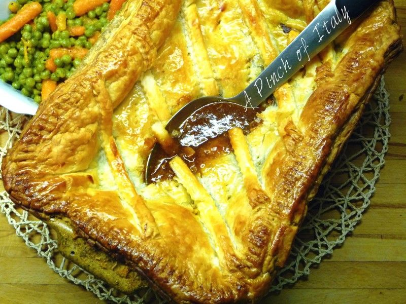 Steak and Ale Pie, Ricetta Internazionale, A Pinch of ...