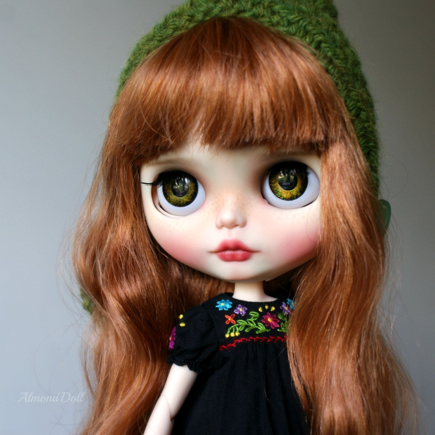 Kaylee-custom ooak blythe doll poupée d'art unique par