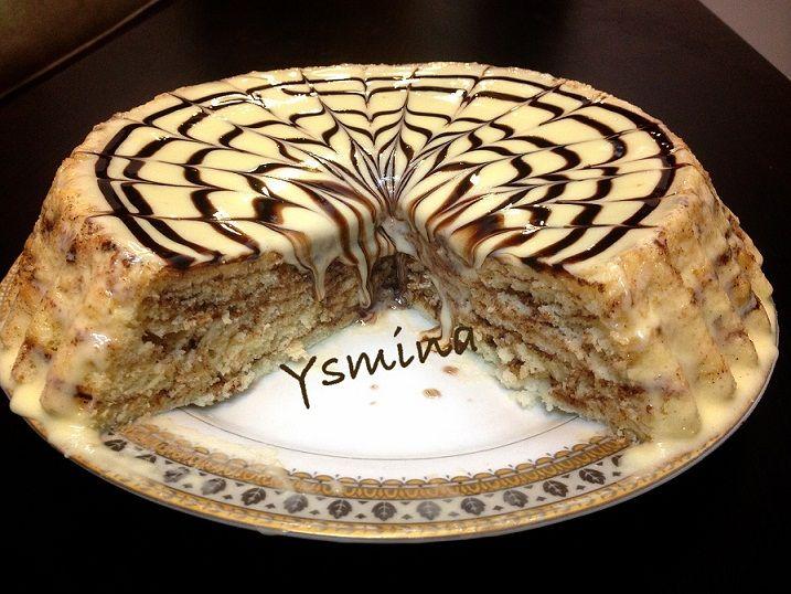 أناقة مغربية تحضير كيكة طبقات القرفة روعة Sweets Cheesecake Cookies Food