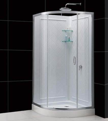 34 Corner Shower Brand New Round Corner Shower Enclosure 34 75 X 34 75 X 72 8 W Corner Shower Stalls Dreamline Shower Stall Kits