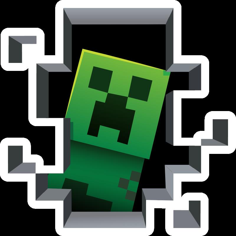 Minecraft Creeper Inside Minecraft Wallpaper Minecraft Pictures Minecraft Stickers