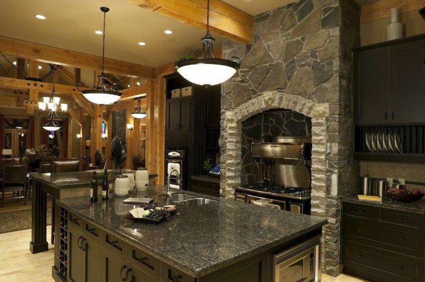 Modern Luxury Kitchen With Granite Countertop Custom 40 Uber Luxurious Custom Contemporary Kitchen Designs  Dark . Review