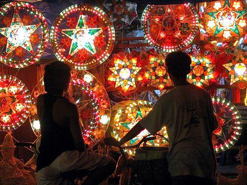 Christmas Lights In Pampanga.Parol Christmas Lantern Traditional Christmas Decorations