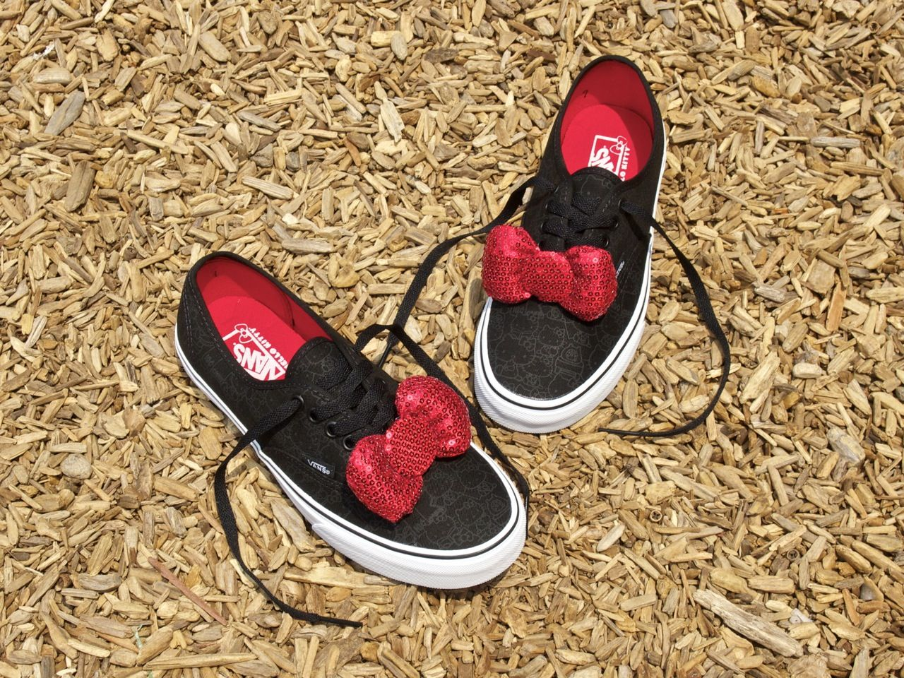 33565d15a3b For the kids or the kid at heart! New  Vans X  HelloKitty styles are in  stores and on shoepalace.com now.