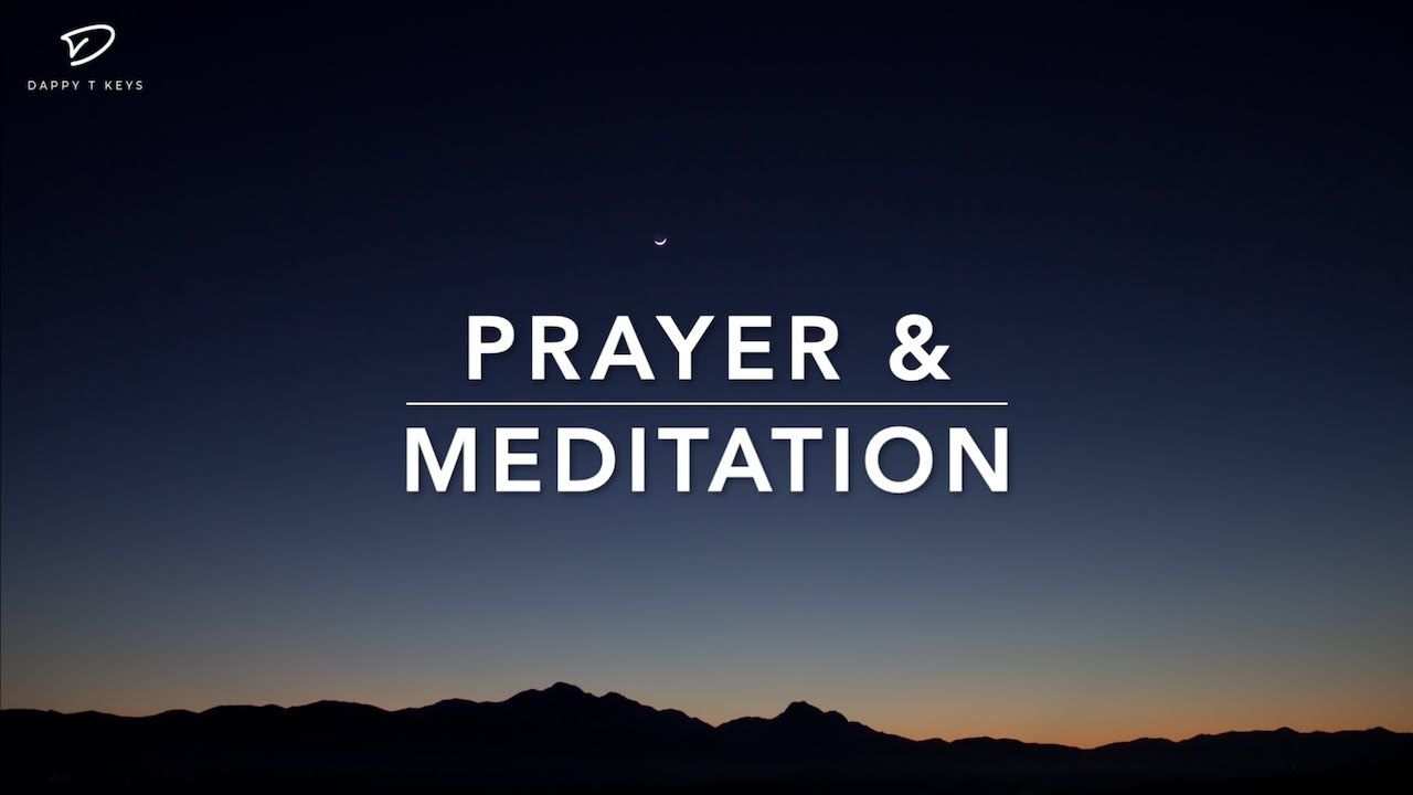 Prayer & Meditation - 1 Hour Peaceful Meditation Music   God's Promises   Sleep & Relaxation Music - YouTube in 2019   Meditation music. Sleep ...
