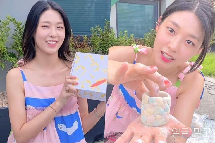 Watch: AOA's Seolhyun Launches Her YouTube Channel With Fun Attempt To Make Pottery