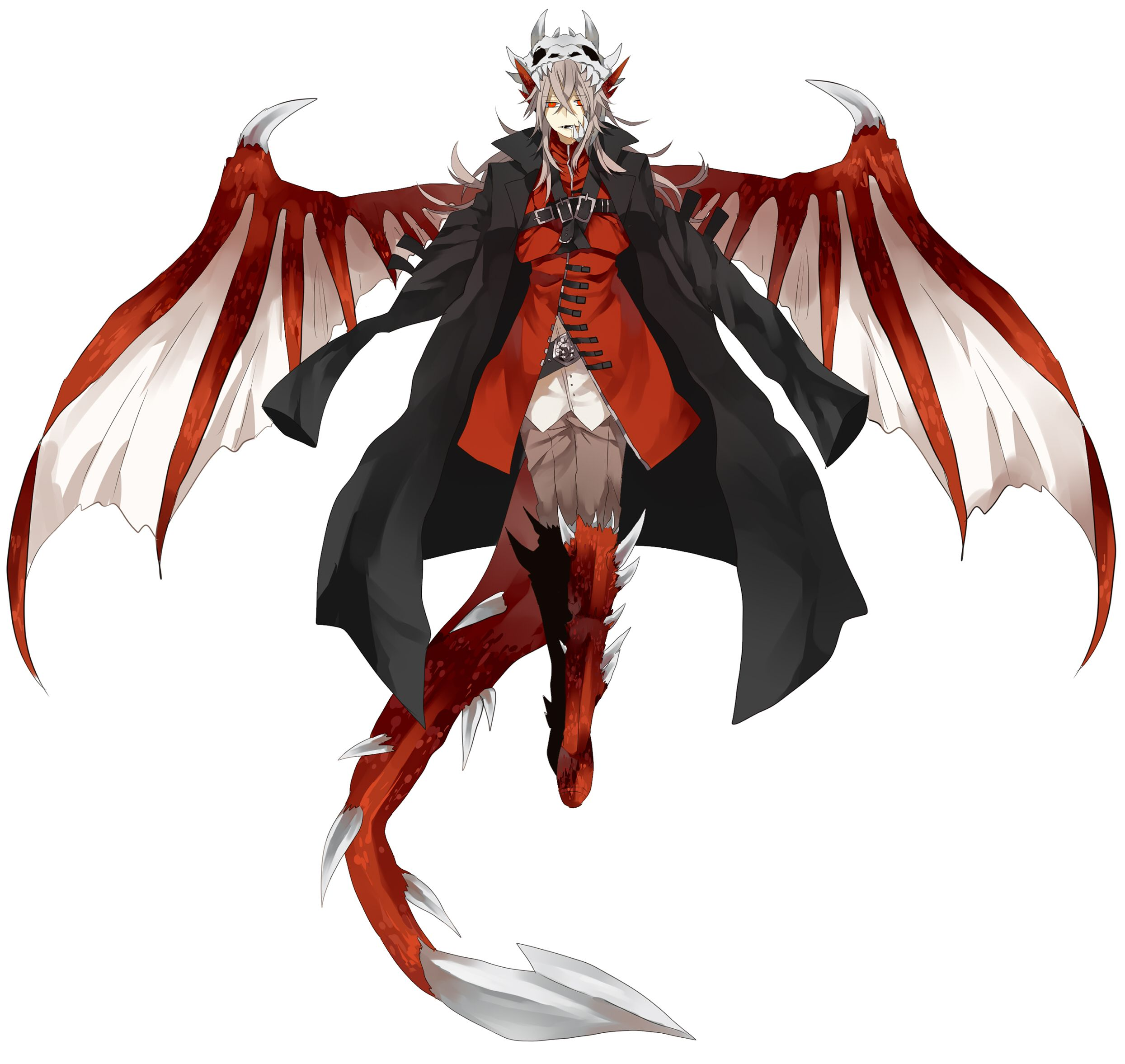 Http Static Zerochan Net Shilla P Full 389624 Jpg Anime Demon Boy Concept Art Characters Fantasy Character Design