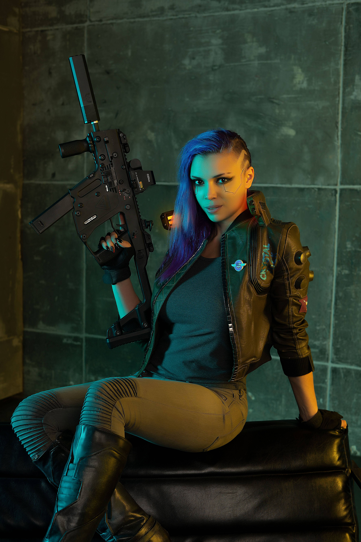 V cosplay Cyberbooty Cyberpunk 2077, Cyberpunk, Cosplay