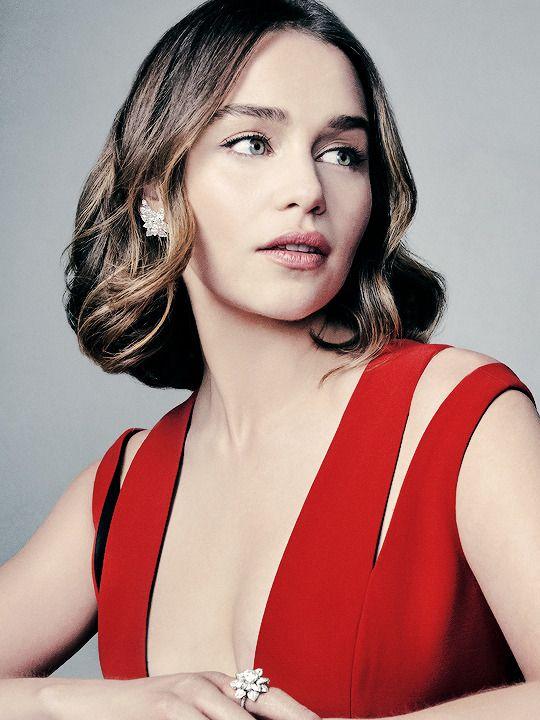 getthelala: ♣ Emilia Clarke for EE British Academy Film Awards Portrait