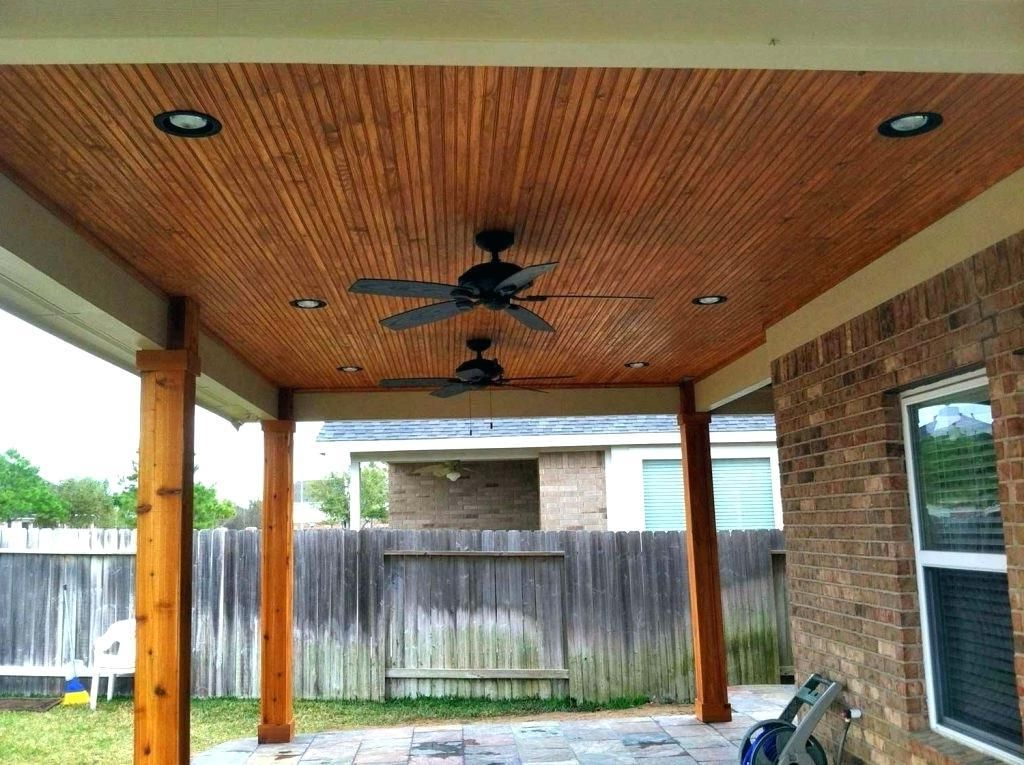 patio ceiling ideas wood ceilings
