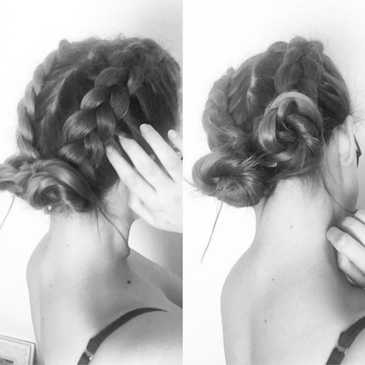 Dutch Braid Space Buns - Hair Pop