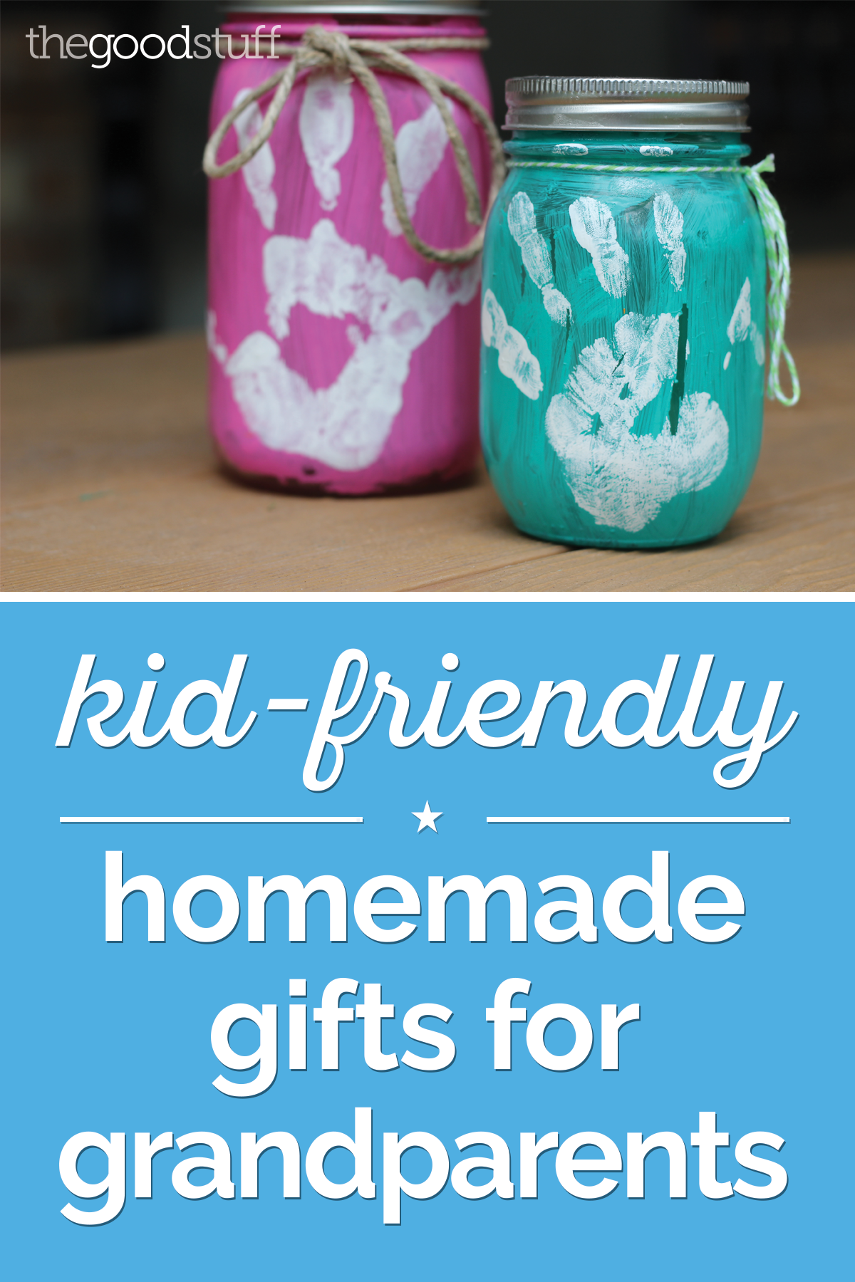 Kid-Friendly Homemade Gifts for Grandparents | Gifts ...