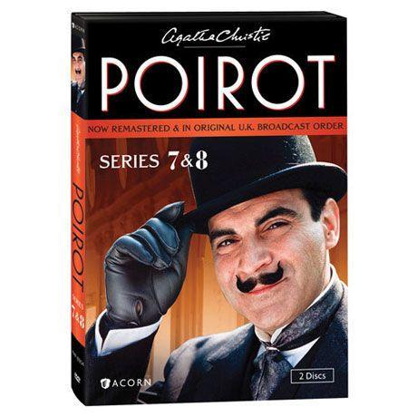Agatha Christie S Poirot Series 7 8 Dvd Blu Ray Agatha Christie S Poirot Agatha Christie Poirot