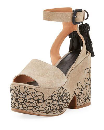 086f3beea4bc SIGERSON MORRISON BEIA SUEDE PLATFORM SANDAL.  sigersonmorrison  shoes