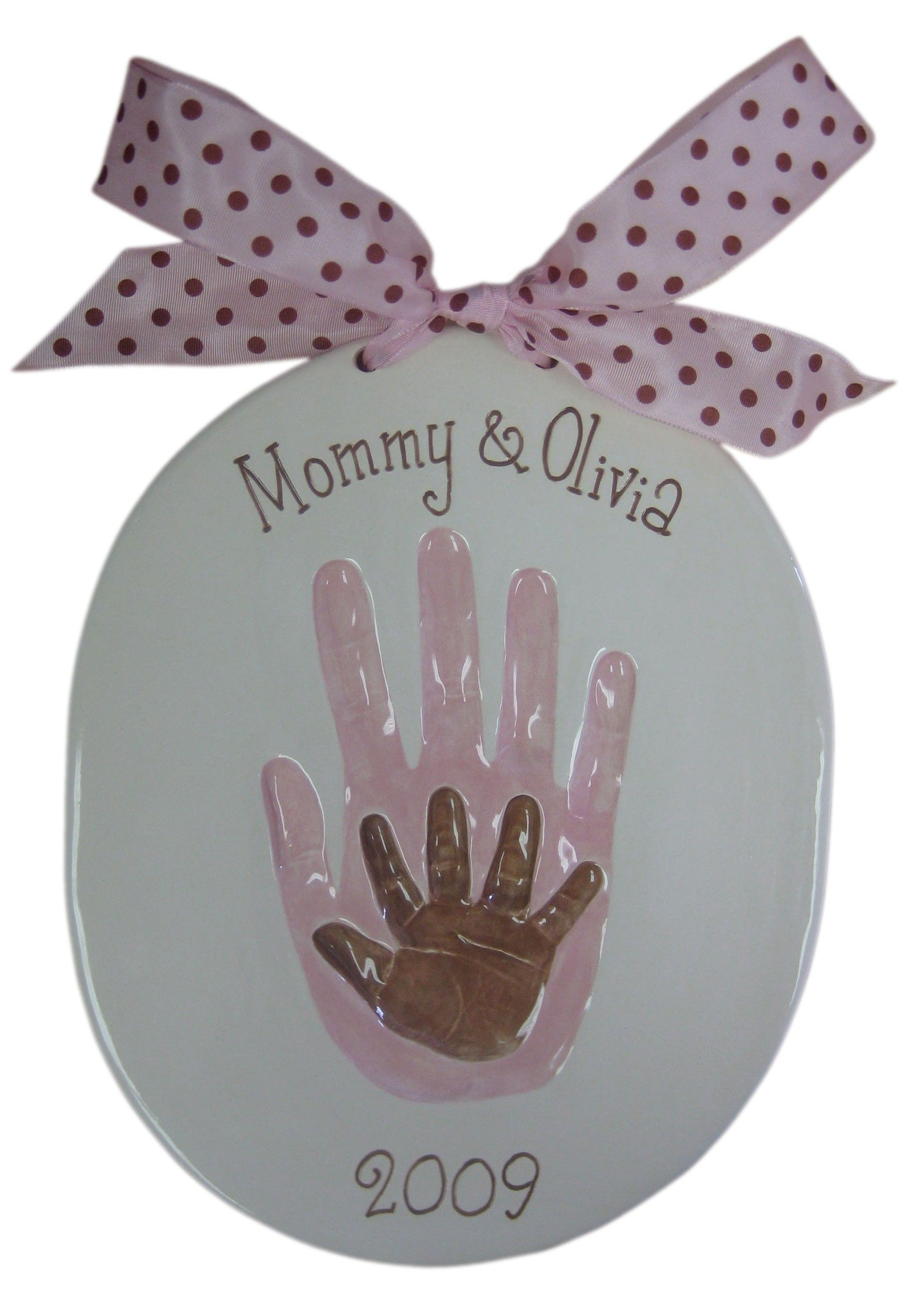 Mommy and Baby Handprint Kit | Gifts For New Moms | Pinterest | Baby ...