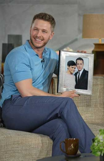 Josh Dallas And His Wedding Al With Wife Ginnifer Goodwin