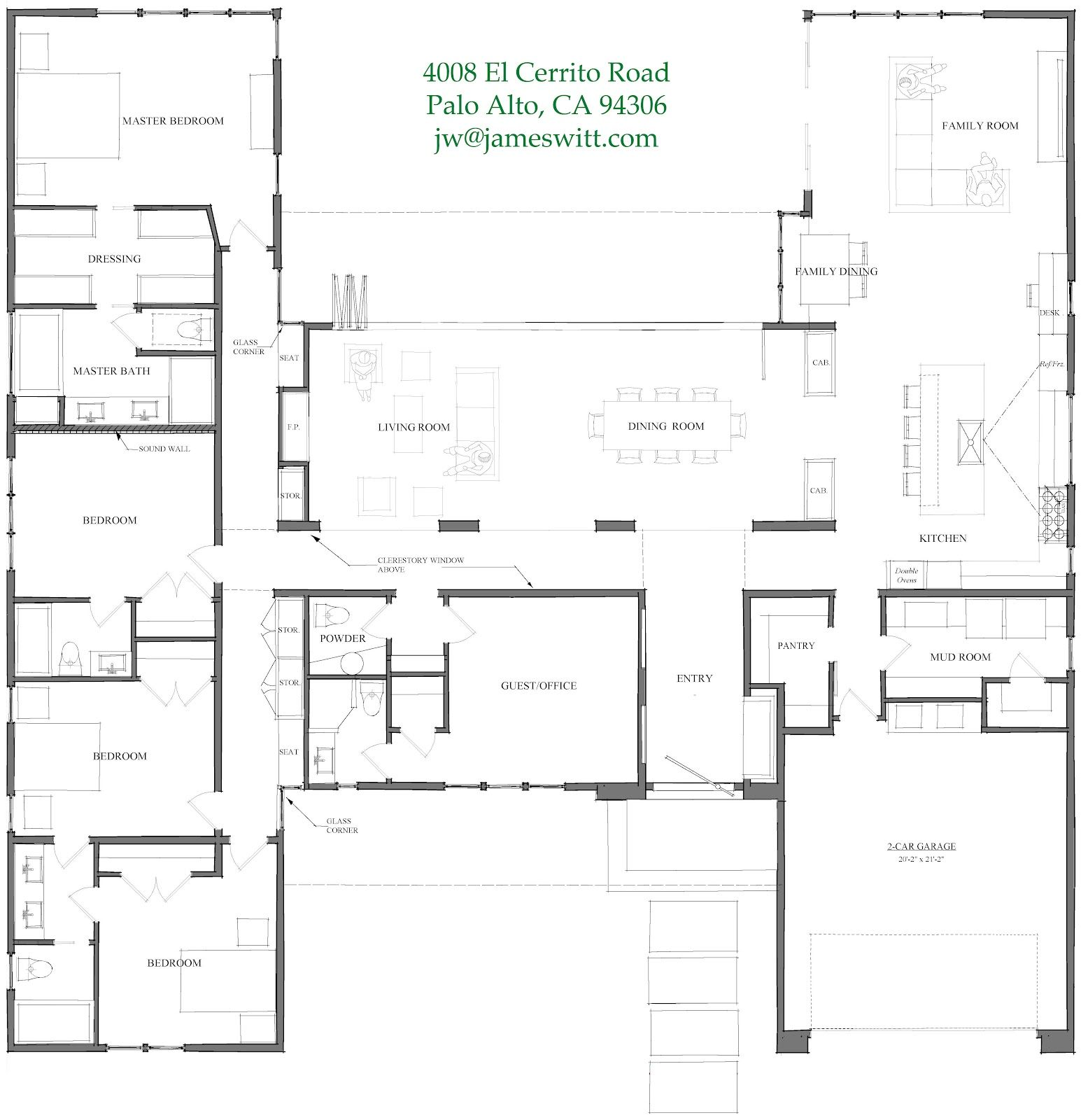 Interesting single story floor plan future house ideas for Story about future plans