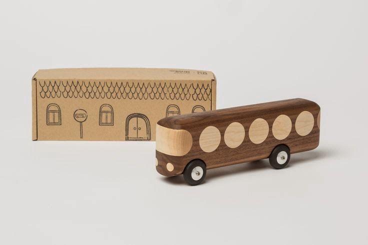 wooden toys by Czech design studio NUXO