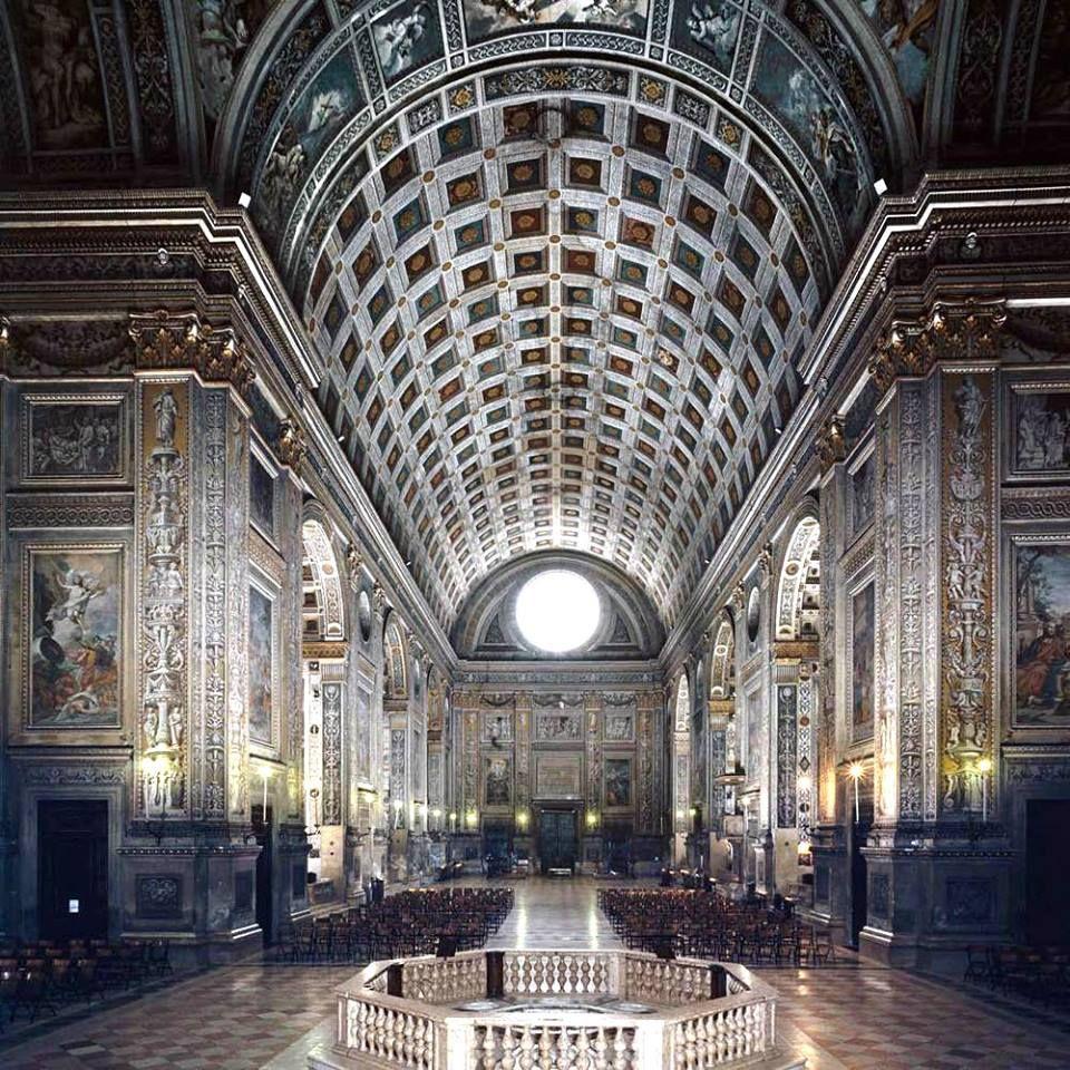 Mantova basilica di sant 39 andrea capolavoro tra i vertici assoluti dell 39 architettura di leon - Architetto mantova ...