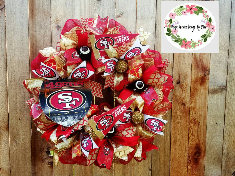 San Francisco 49ers Wreath 49ers Wreath San Francisco