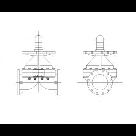 Diaphragm valve mechanical cad blocks pinterest 2d and autocad diaphragm valve ccuart Images