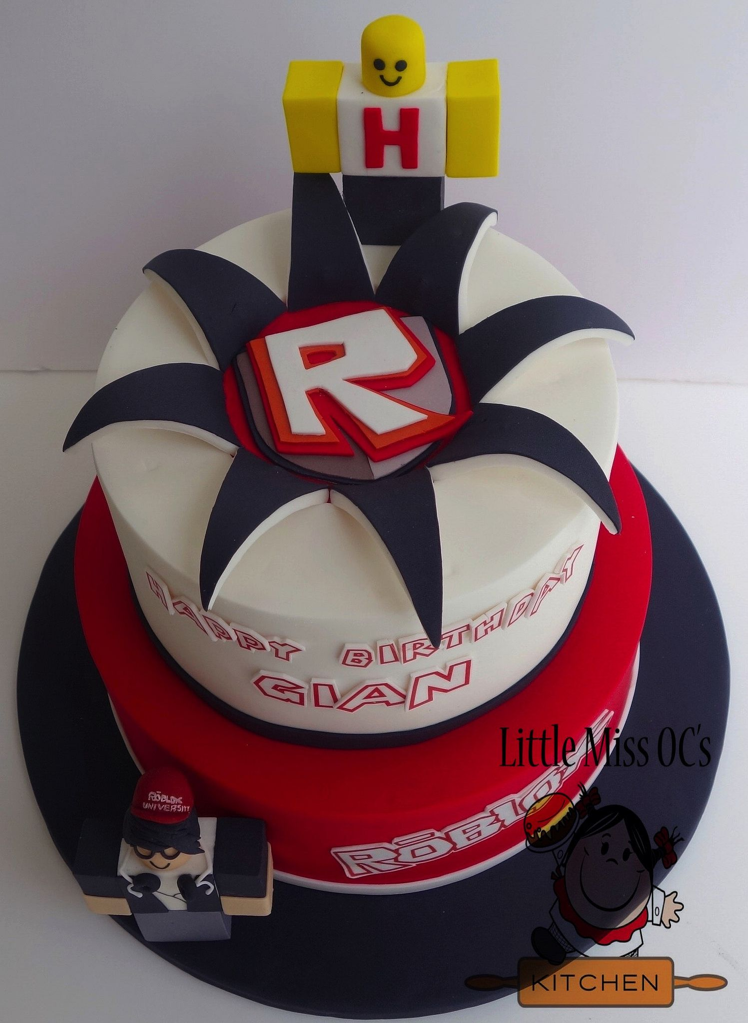 Roblox Cake Little Miss Oc S Kitchen Cakes Pinterest