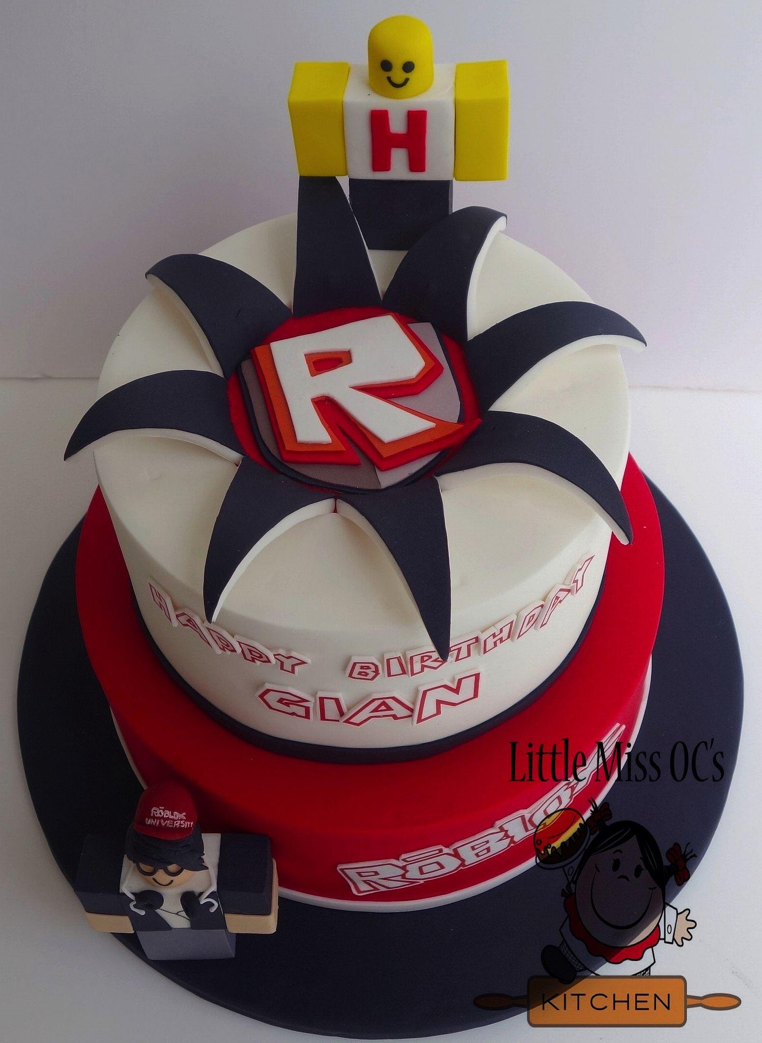 Roblox Cake Com Imagens Aniversario Festa Infantil Festas