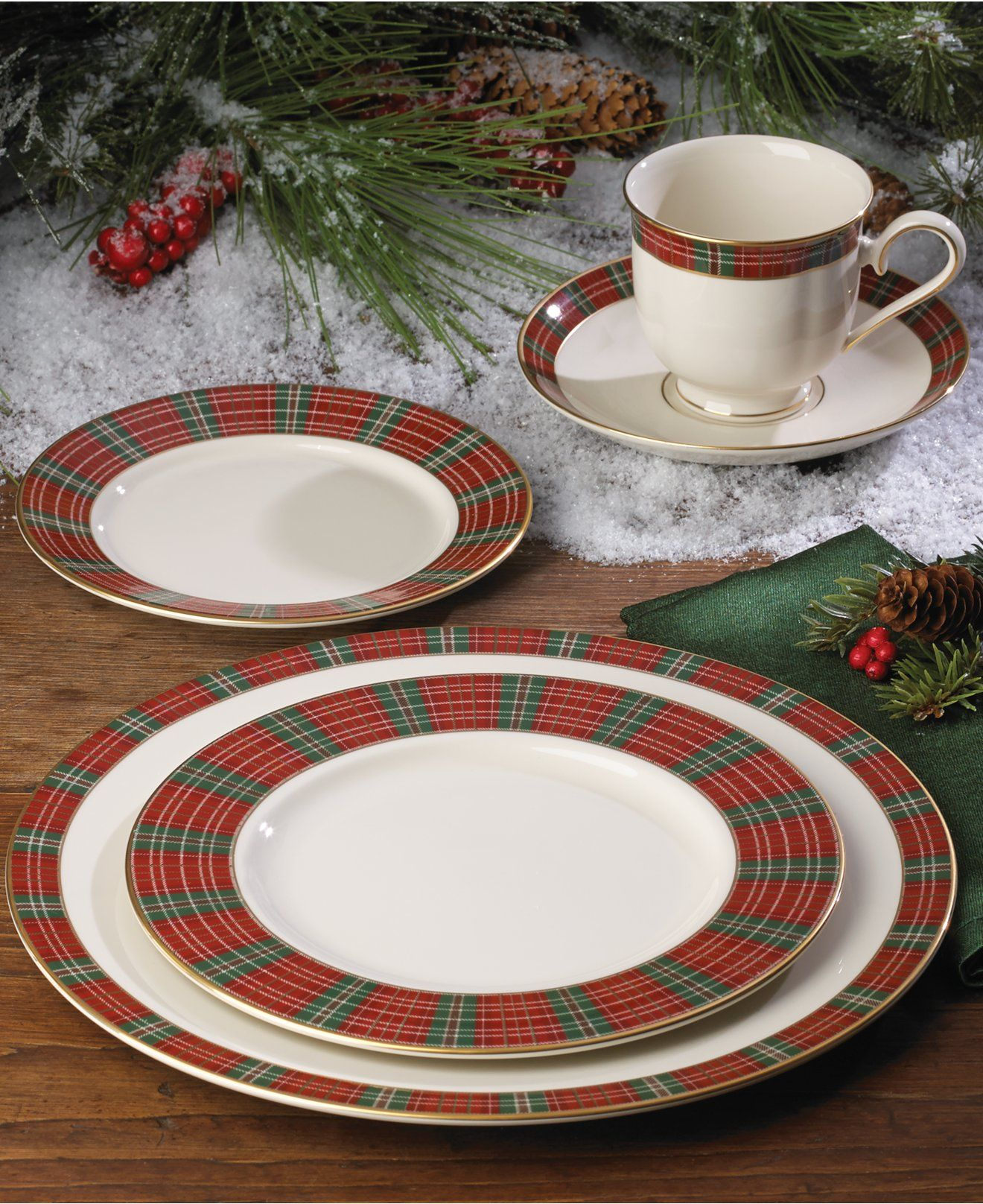 Lenox winter greetings plaid perfect for christmas a lenox lenox winter greetings plaid perfect for christmas m4hsunfo