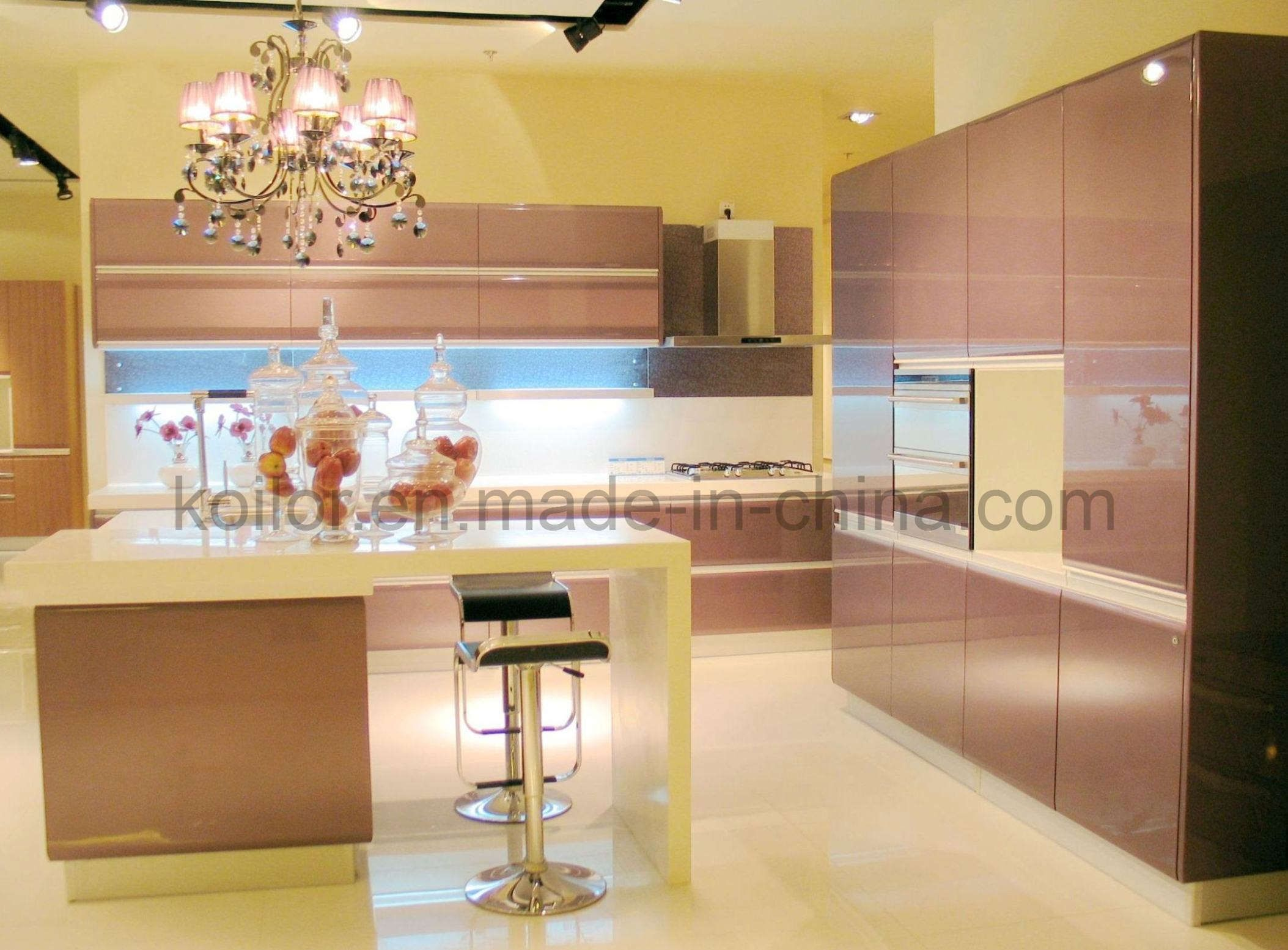 European Kitchen Cabinets And Oval Kitchen Island Design Fascinating European Kitchen Design Design Decoration