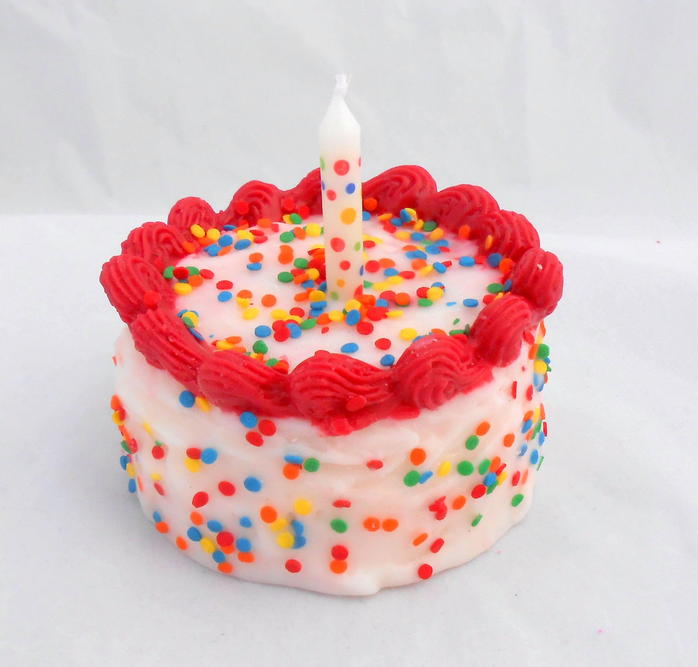 Buttercream Cupcake Cake Candle Birthday Cake Dessert Etsy Dessert Candles Birthday Cake With Candles Cupcake Cakes