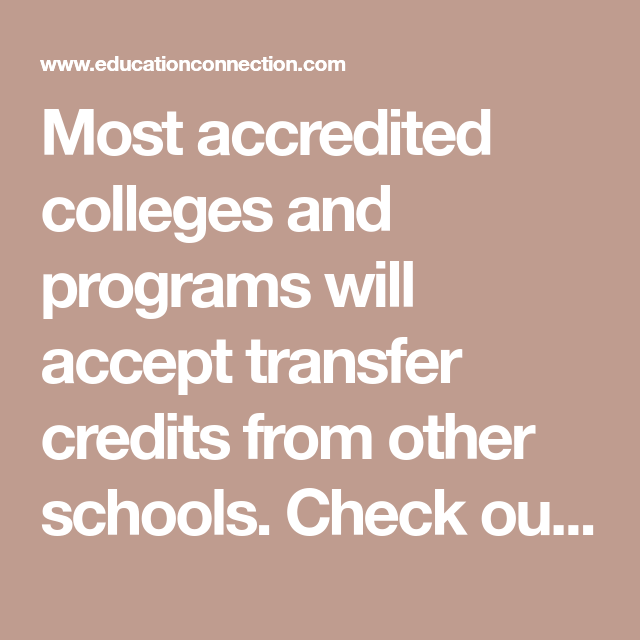 College Credit Transfer, 90+ Credits (With images) | College, College credit,  Bachelor program