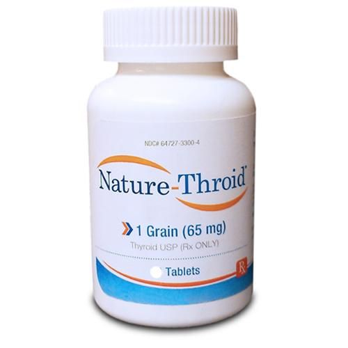 Nature Thyroid Hormone Replacement Therapy Tablets 1 Grain 65 Mg
