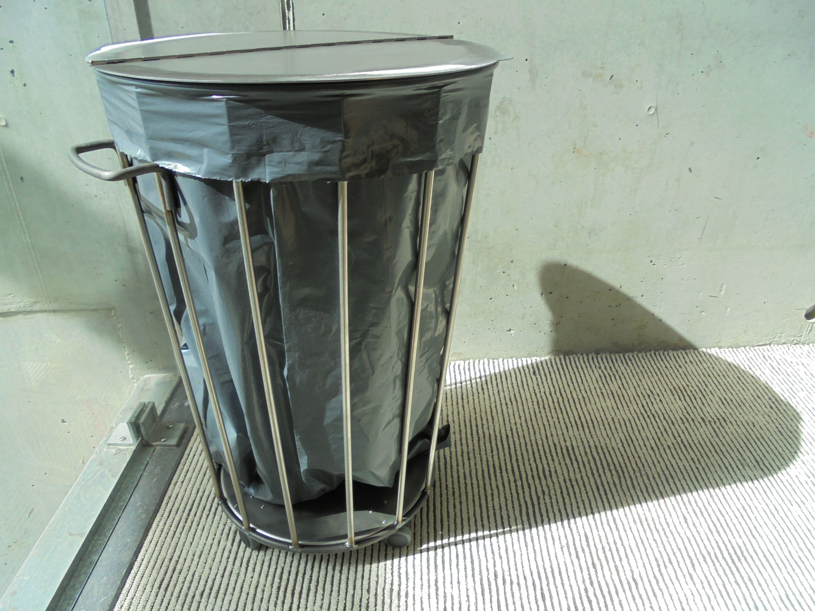 II - This is a prototype. It\'s my own design. A trash bin for \
