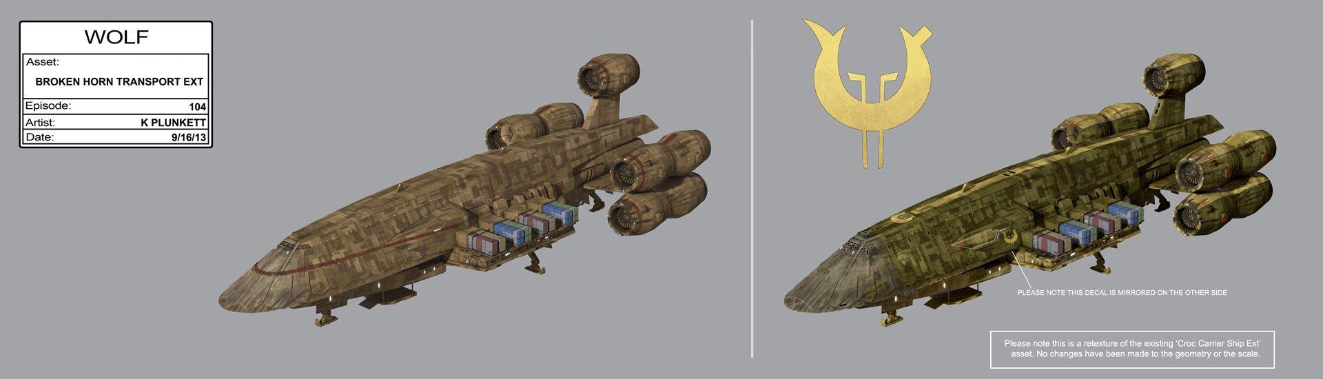 broken space ship - photo #39