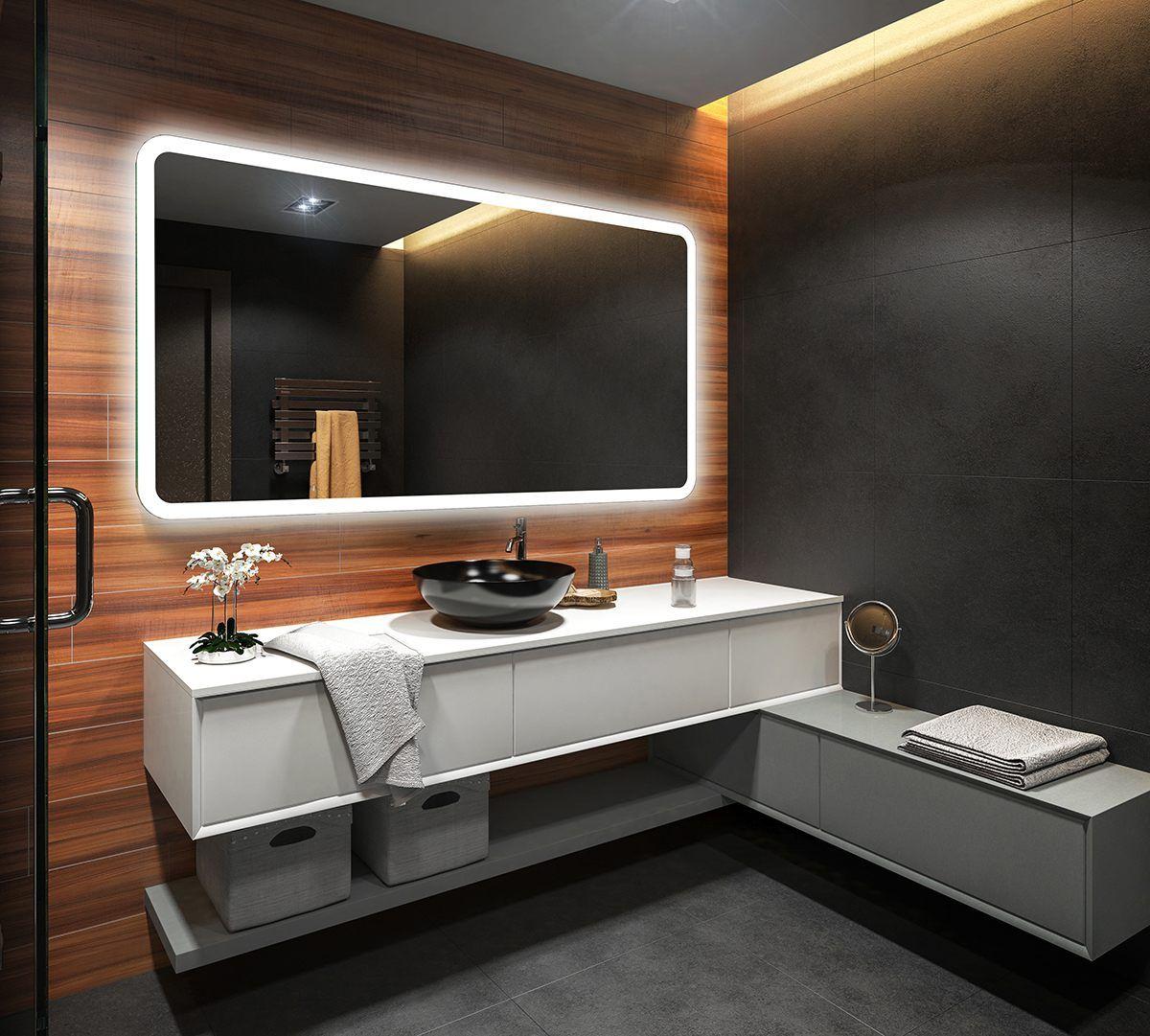 8 Badspiegel Mit Led Beleuchtung Wandspiegel Spiegel