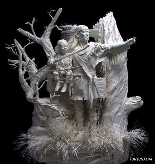 unbelievable paper sculptures!