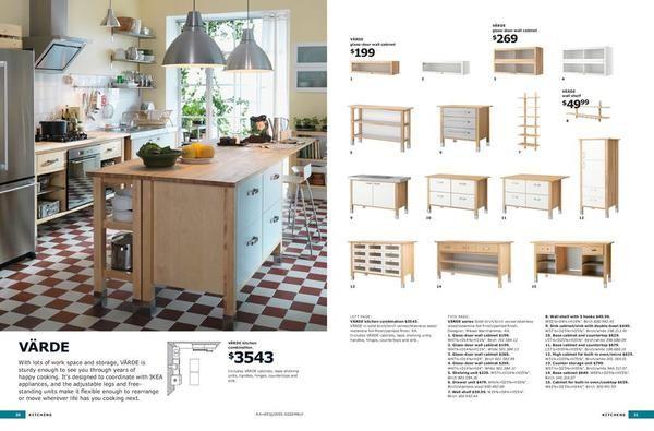 ikea free standing kitchen Lake cabins  houses! Pinterest