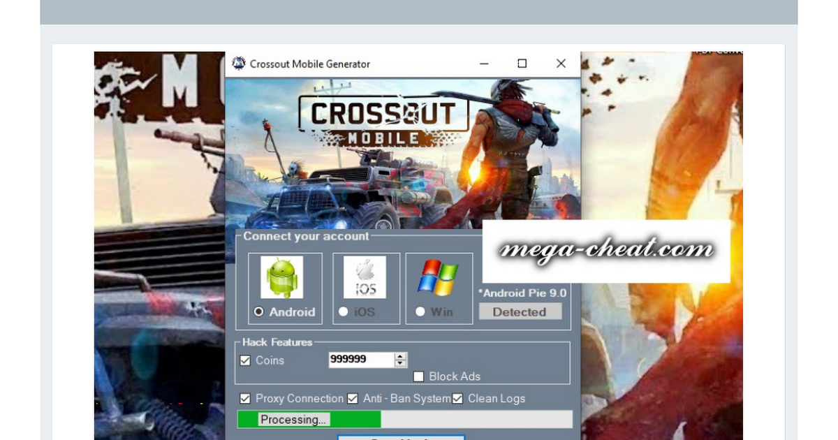Crossout Mobile Hack Android And Ios Free Cash Mobile Connect Mobile Generator Hacks