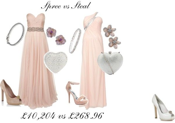 """Spree vs Steal"" by stickyangelwings on Polyvore"