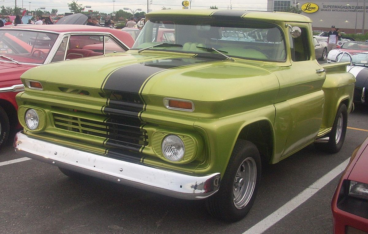 Tuned Chevrolet C K Photographed In Laval Quebec Canada Con