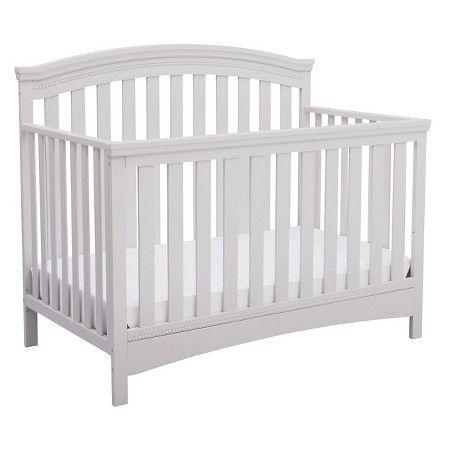 Delta Children Emerson 4 In 1 Convertible Crib Gray Baby Cribs