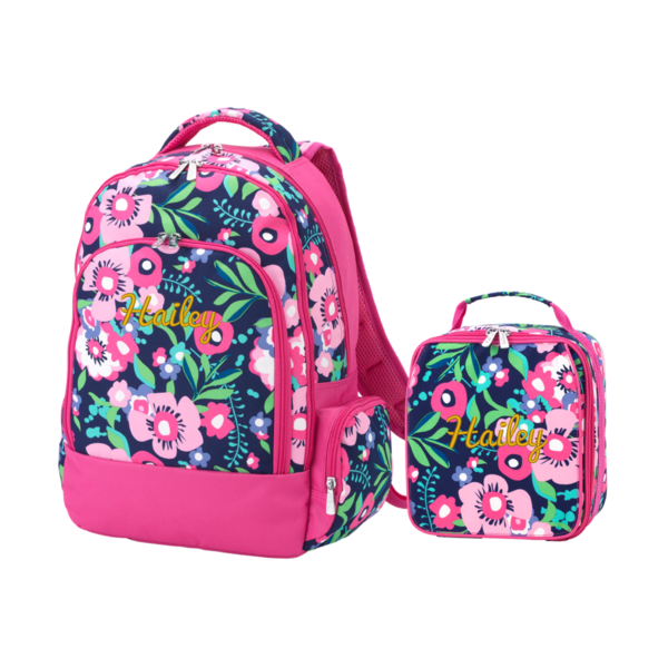 Personalized Matching Backpack Lunchbox Combo Amelia