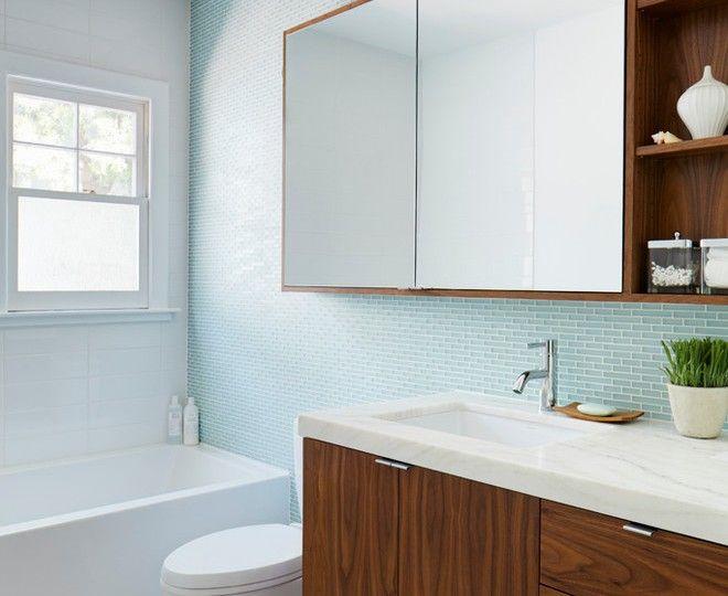 Pretty Medicine Cabinet Mirror Method Los Angeles Contemporary - Glass accent tiles for bathroom for bathroom decor ideas