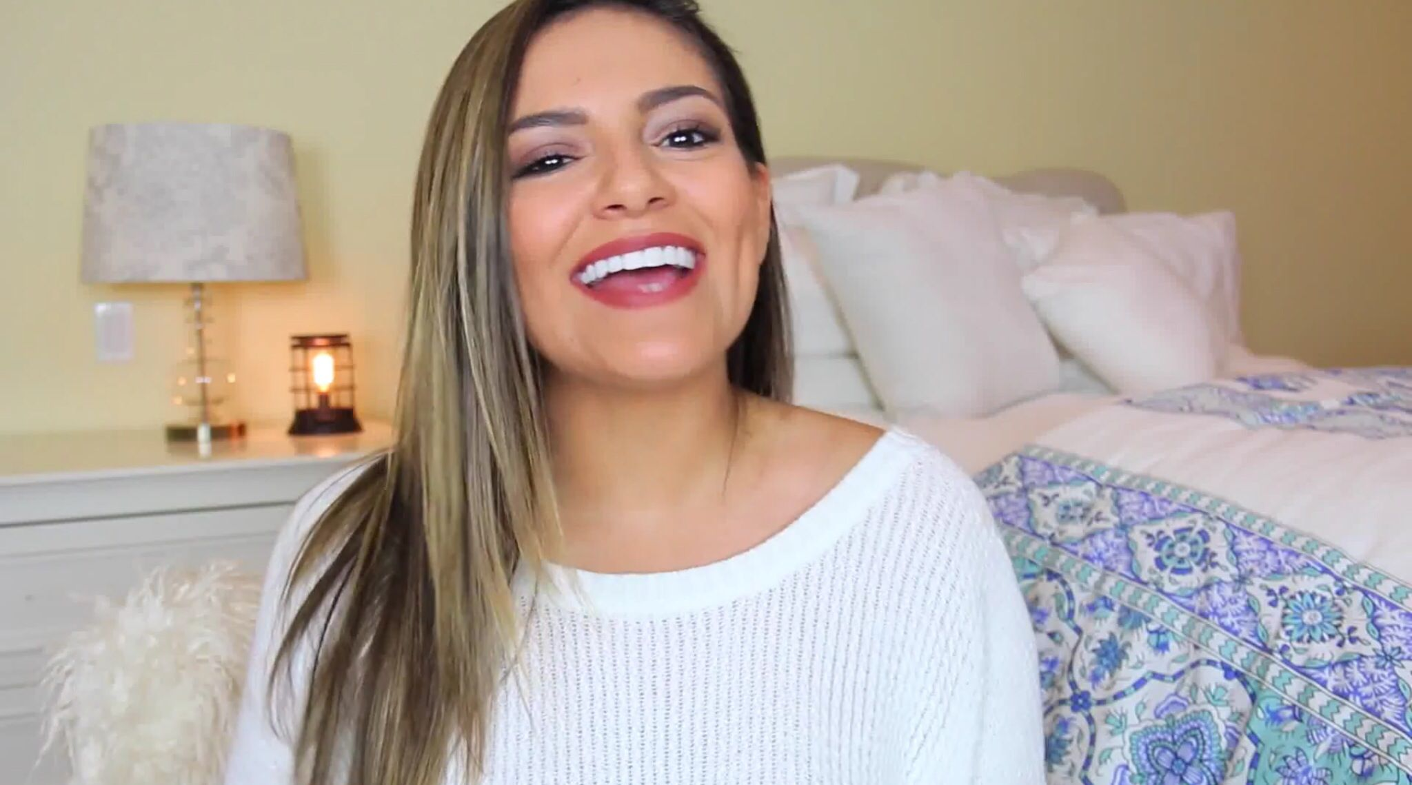Beth uploaded a new vid and vlog beauty hair