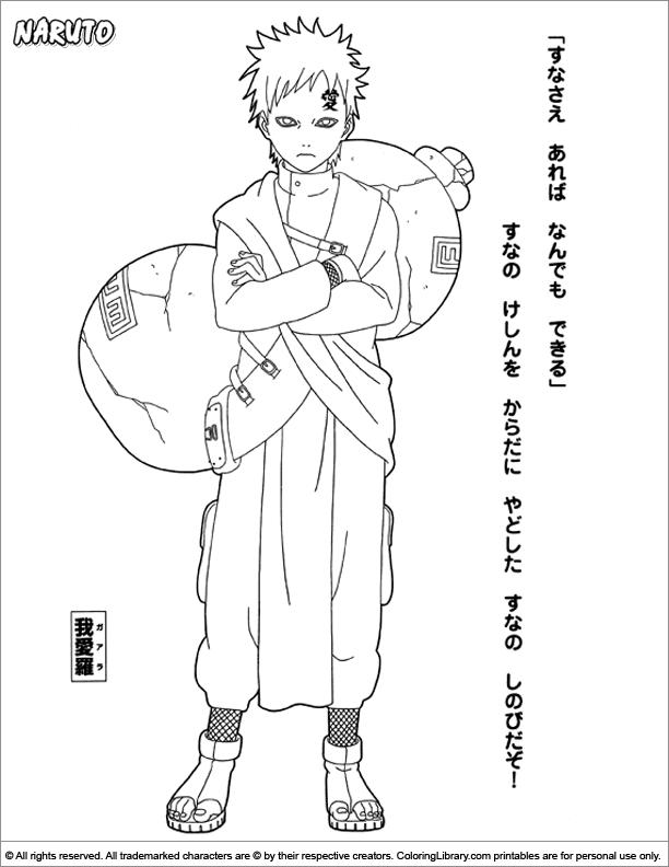 Naruto Coloring Page Coloring Pages Naruto Naruto Drawings