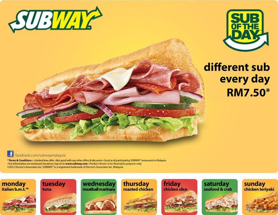 subway pizza sandwich. Una diferente para cada día de la semana. I like it!